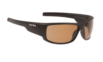 Ugly Fish Polarised Krypton Sunglasses PC3266 Matt Black Frame Brown PC Lens