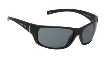 Ugly Fish Polarised Eclipse Sunglasses PC3411 Matt Black Frame Smoke PC Lens