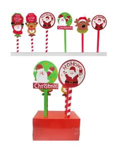 Christmas Yard Stop Stake
