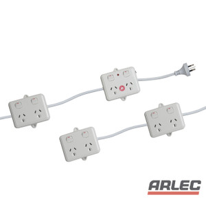 Arlec 8 Outlet Power Chain