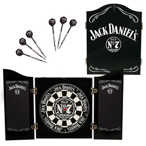 Jack Daniel's Dartboard Cabinet Set
