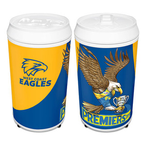 West Coast Eagles 2018 Premiers Caricature Coola Can Fridge
