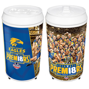 West Coast Eagles 2018 Premiers Team Coola Can Fridge