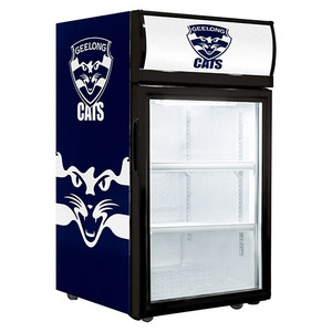 Geelong Cats 40L Glass Door Fridge
