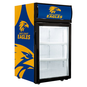 West Coast Eagles 40L Glass Door Fridge