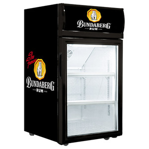 Bundaberg Rum 40L Glass Door Fridge