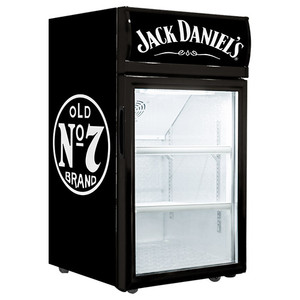 Jack Daniels 40L Glass Door Fridge
