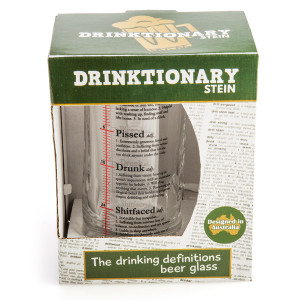 Drinktionary Beer Stein (14oz)