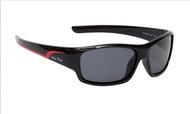 Ugly Fish Junior Polarised Sunglasses PK 255 Black Frame Smoke Lens