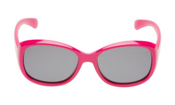 Ugly Fish Junior Mermaid Polarised PKM533 P.SM Pink Frame Smoke Lens