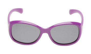 Ugly Fish Junior Mermaid Polarised PKM533 PU.SM Purple Frame Smoke Lens