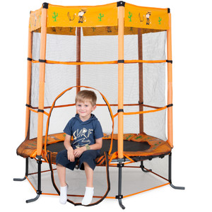 Action Sports 4.5ft Cowboy Trampoline