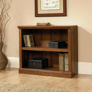 SAUDER Cherry Washington 2 Shelf Bookcase