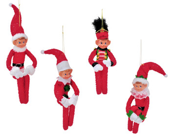 Elf Doll Bendable 35cm
