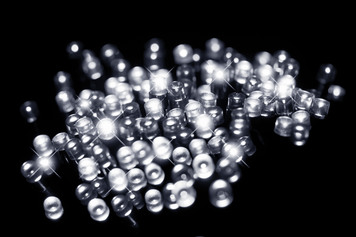 120pc Solar LED Fairy Lights White