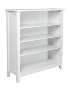 Kodu - White Glacier 4 Tier Bookcase