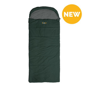 Oztrail - Kakadu Green -5C Hooded Sleeping Bag