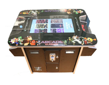 2 Player 60 Game Arcade Machine