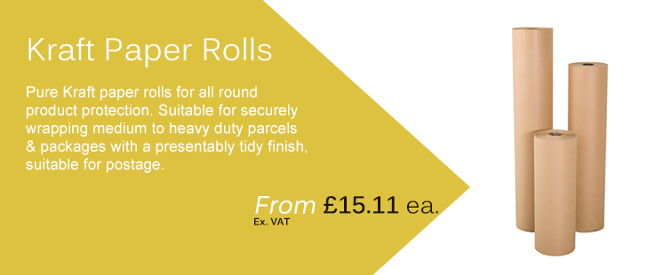 Kraft paper rolls for sale