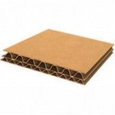 Double wall cardboard layer pads 845 x 1190mm  'A0' size (199 pads)