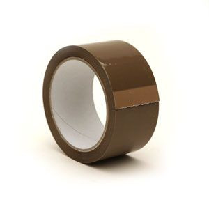 Buff/Brown Low Noise Polypropylene Tape available at http://www.thepackagingsite.co.uk/tape/