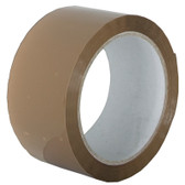 Buff/brown polypropylene acrylic adhesive packaging tape 48mm X 66m (36 pack)