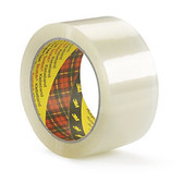 3M Scotch clear polypropylene hot melt tape 75mm x 66m (24 pack)