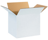White cardboard boxes 12 x 9 x 9 (305 x 229 x 229mm)
