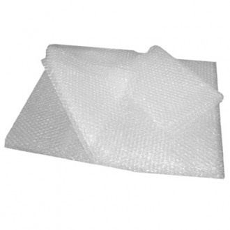 Bubbleflex small bubble wrap sheets. Ideal for general usage, the small bubble wrap will shape to fit the product that it is wrapped around ensuring the item is protected at all times during transit.  1000's of pockets of air encapsulated in a high performance polyethylene film barrier, provides excellent cushioning for products which are fragile and need protecting.