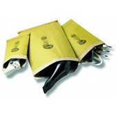 Jiffy gold padded bag 120 x 254mm A6 size (200 bags per pack)