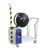 Semi-auto pallet strapper for 12-15.5mm wide PP strapping