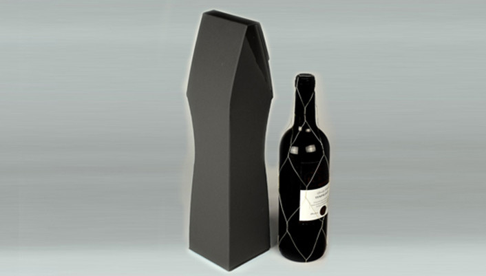 Single Wine Bottle Gift Boxes Easy Assembly 100 Recyclable 5 Boxes Per Pack