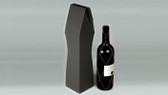Black wine bottle gift boxes