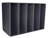 Black storage unit