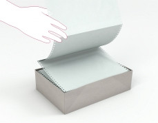 Continuous Carton Oyster White