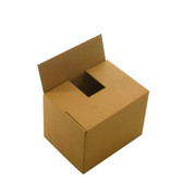 "Single wall cardboard boxes 4 x 4 x 4"" (102 x 102 x 102mm)"