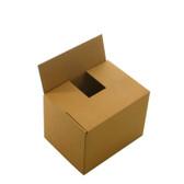 "Single wall cardboard boxes 5 x 5 x 5"" (127 x 127 x 127mm)"