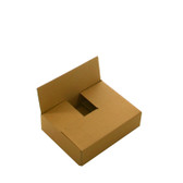 "Single wall cardboard boxes 12 x 9 x 4"" (305 x 229 x 102mm)"