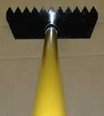 Fire Hooks Unlimited Brush Rake Fiberglass Handle