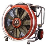 "LEADER MT260 24"" PPV GASOLINE DRIVEN FAN - 42,260 CFM open air & 24,768 CFM AMCA"