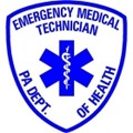 "4"" PA D.O.H. EMT Window Sticker"