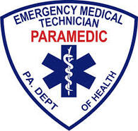 "4"" PA D.O.H. PARAMEDIC Window Sticker"