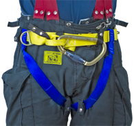 Gemtor 541NYC, Class II Life Safety Harness with Aluminum Hook