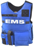 EMS RAID COMES WITH 3 STANDARD POCKETS WITH SIDE OPENING AS SHOWN