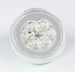 GloLight LED Backup Light for Truck or Trailer - Submersible - 21 Diodes - Round - Clear (#BUL101CB)
