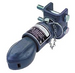 """Bulldog Brand Sleeve style Coupler fits on 2"""" ball, bolts on to trailer with the 2 bolt channel style mount."""
