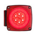"Glolight LED Combination Tail Light for Trailers under 80"" Wide - Square - Red - Passenger Side(#STL108RB)"