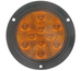 Optronics LED Trailer Turn Signal and Parking Light - Submersible - 10 Diodes - Round - Amber Lens (#STL42AB)
