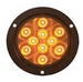 "4"" Round Sealed LED Yellow Parking/Turn Signal (#STL42ABK)"