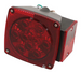 Combination LED Trailer Tail Light - Submersible - 6 Function - 11 Diodes - Passenger Side (#STL-8RB)